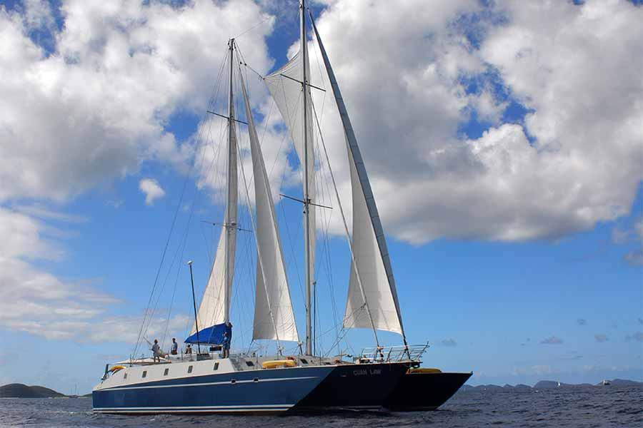 Cuan Law under Sail